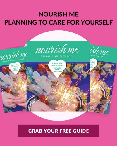 Nourish Me Planner